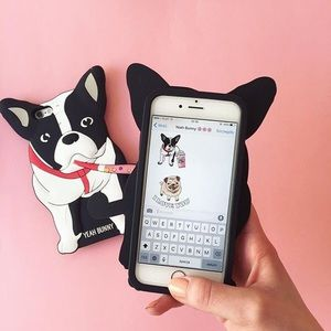 Yeah bunny iPhone7 cute dog silicone case